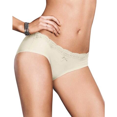 Comfort Devotion Women's Ivory Shell Embellished Hipster