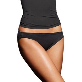 Comfort Devotion Women's Black Body Beige Lining Bikini