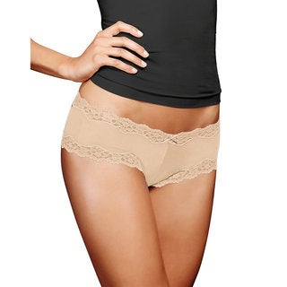 Cheeky Women's Latte Lift Lace Hipster