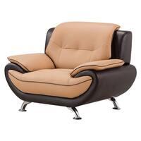 American Eagle Brown & Dark Brown Chair