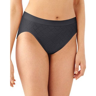 Comfort Women's Hi-Cut Black Diamond Revolution Panty