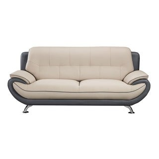 American Eagle Light Grey & Dark Grey Sofa