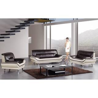 American Eagle Mahogany & Ivory Sofa Set https://ak1.ostkcdn.com/images/products/12183979/P19033843.jpg?impolicy=medium