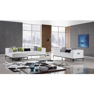 American Eagle White Sectional - Right Chaise