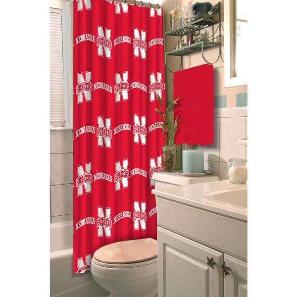 COL 903 Nebraska Shower Curtain