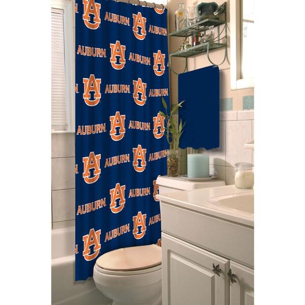 COL 903 Auburn Shower Curtain