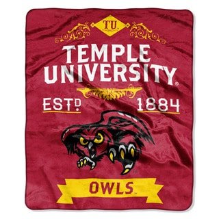COL 670 Temple 'Label' Raschel Throw