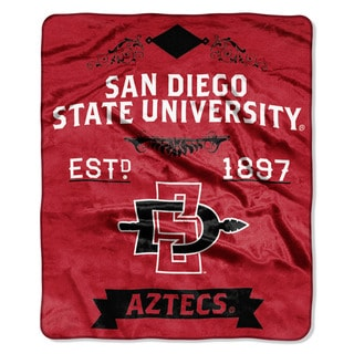 COL 670 San Diego State University 'Label' Raschel Throw