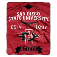 COL 670 San Diego State University 'Label' Raschel Throw