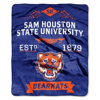 COL 670 Sam Houston State 'Label' Raschel Throw