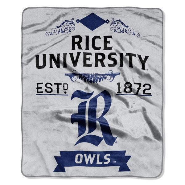 COL 670 Rice 'Label' Raschel Throw