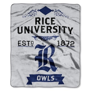 COL 670 Rice 'Label' Raschel Throw