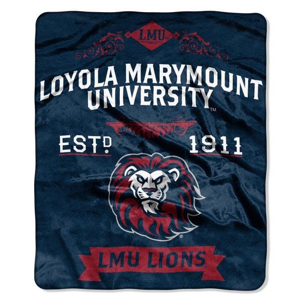 COL 670 Loyola Marymount 'Label' Raschel Throw