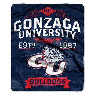 COL 670 Gonzaga 'Label' Raschel Throw