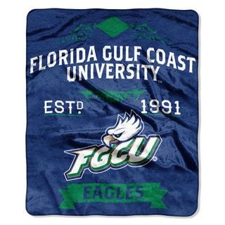 COL 670 Florida Gulf Coast 'Label' Raschel Throw