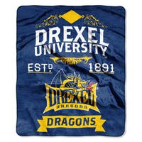 COL 670 Drexel 'Label' Raschel Throw