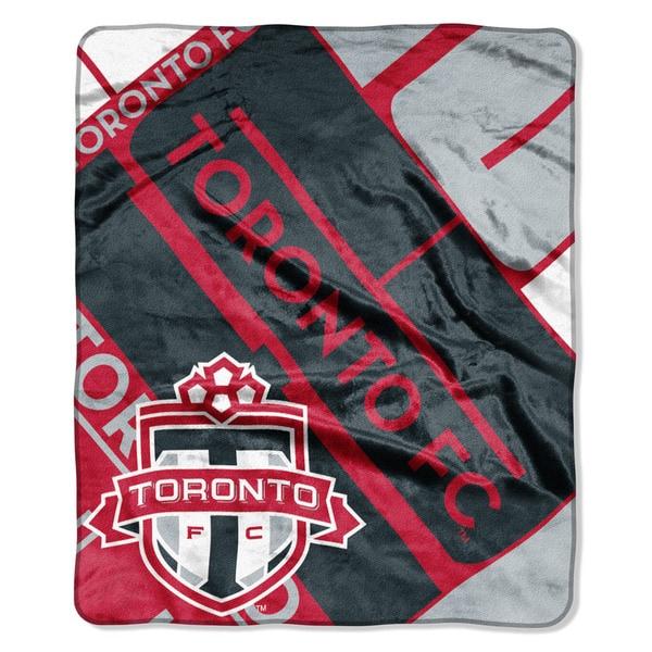 MLS 670 Toronto FC Scramble Raschel Throw