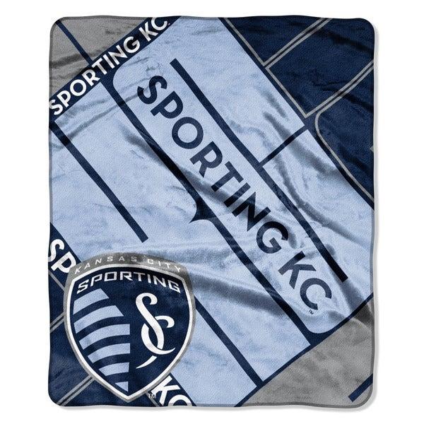 sale retailer de417 5f838 MLS 670 Sporting KC Scramble Raschel Throw