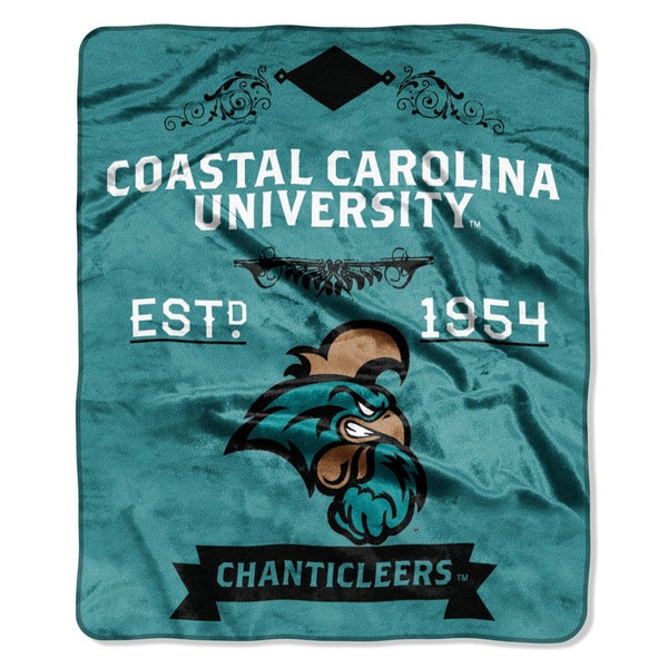 COL 670 Coastal Carolina 'Label' Raschel Throw