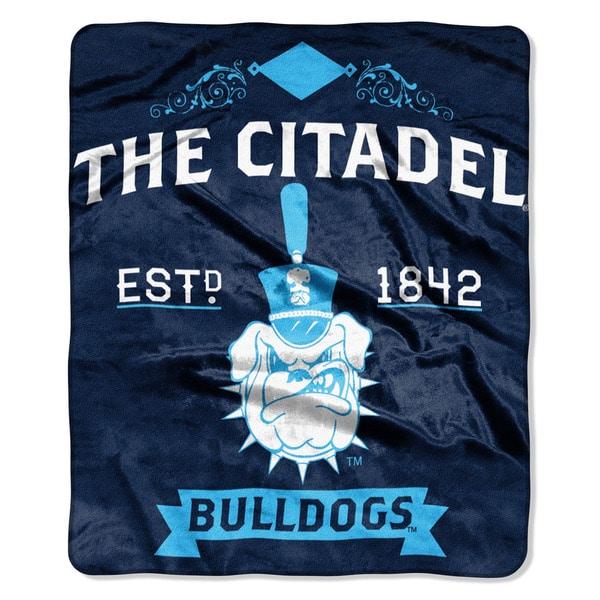 COL 670 Citadel 'Label' Raschel Throw