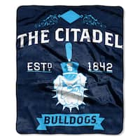 COL 670 Citadel 'Label' Raschel Throw
