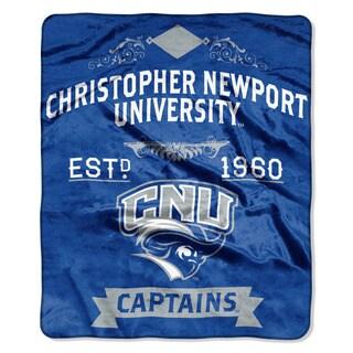 COL 670 Christopher Newport 'Label' Raschel Throw