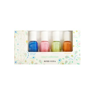 Essie Resort 4-piece Mini Nail Polish Collection