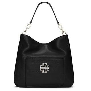 Tory Burch Britten Black Hobo Handbag