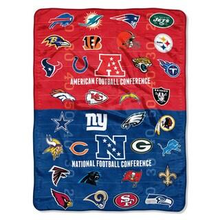 NFL 659 All League Micro Raschel Throw