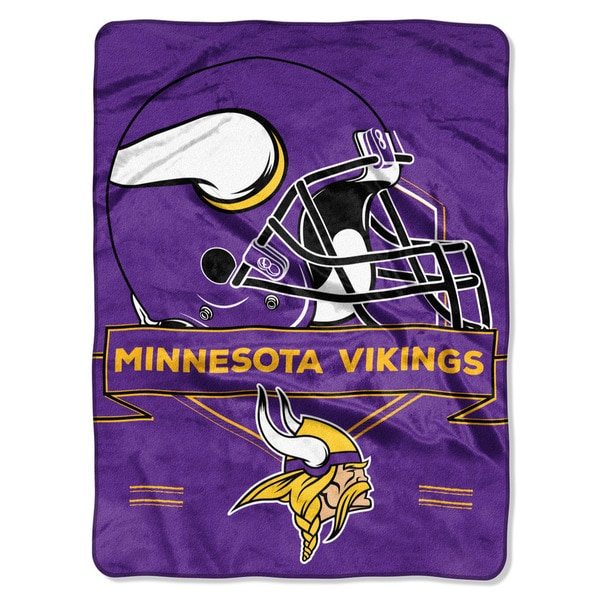 NFL 0807 Vikings Prestige Raschel Throw
