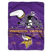 NFL 0807 Vikings Prestige Raschel Throw