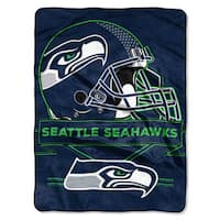 NFL 0807 Seahawks Prestige Raschel Throw