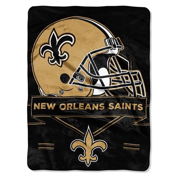 NFL 0807 Saints Prestige Raschel Throw