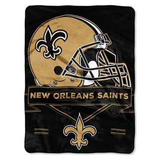 NFL 0807 Saints Prestige Raschel Throw