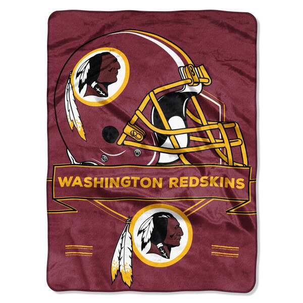 NFL 0807 Redskins Prestige Raschel Throw