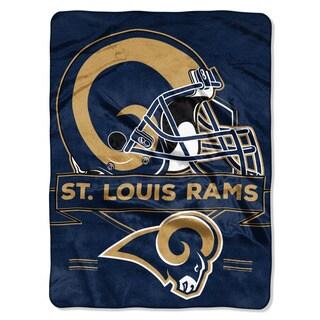 NFL 0807 Rams Prestige Raschel Throw