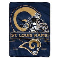 NFL 0807 Rams Prestige Raschel Throw