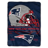 The Northwest Company NFL New England Patriots Prestige Raschel Throw
