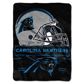 NFL 0807 Panthers Prestige Raschel Throw