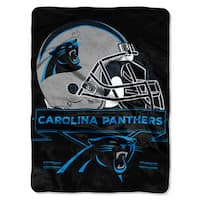 NFL 0807 Panthers Prestige Raschel Throw