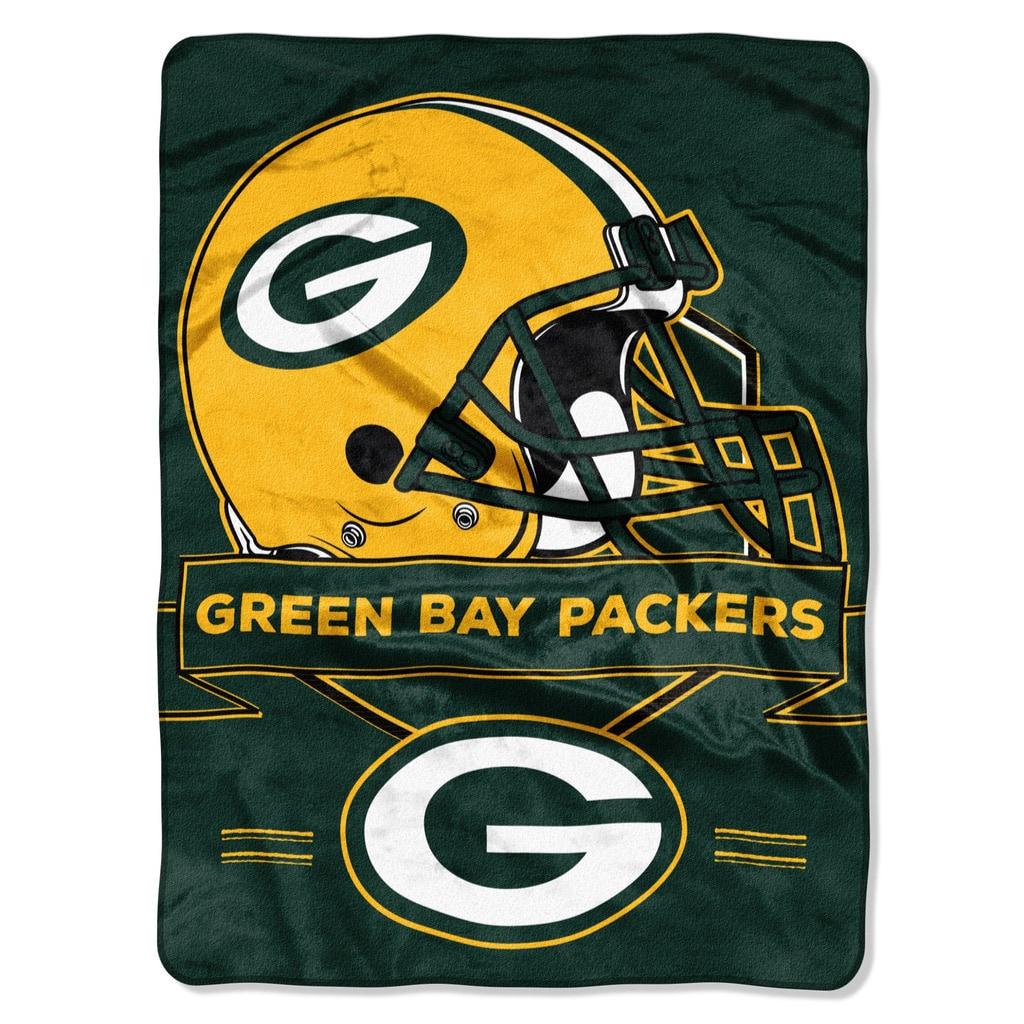 Norwesco NFL 0807 Packers Prestige Raschel Throw (Packers...