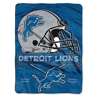 NFL 0807 Lions Prestige Raschel Throw