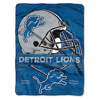 NFL 0807 Lions Prestige Raschel Throw