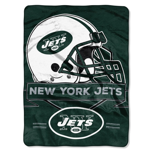 NFL 0807 Jets Prestige Raschel Throw