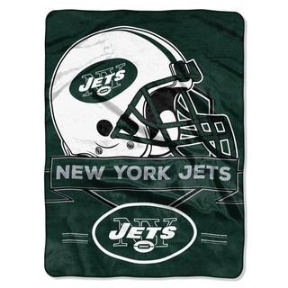 NFL 0807 Jets Prestige Raschel Throw