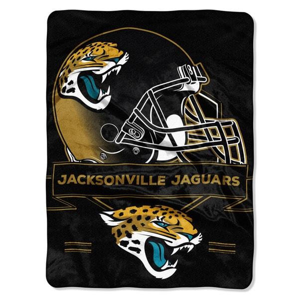 NFL 0807 Jaguars Prestige Raschel Throw