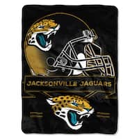 NFL 0807 Jaguars Prestige Raschel Throw