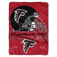 The Northwest Company NFL Atlanta Falcons Prestige Raschel Throw