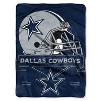 NFL 0807 Cowboys Prestige Raschel Throw