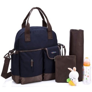 Colorland Blue Multifunctional 4-Way Diaper Backpack